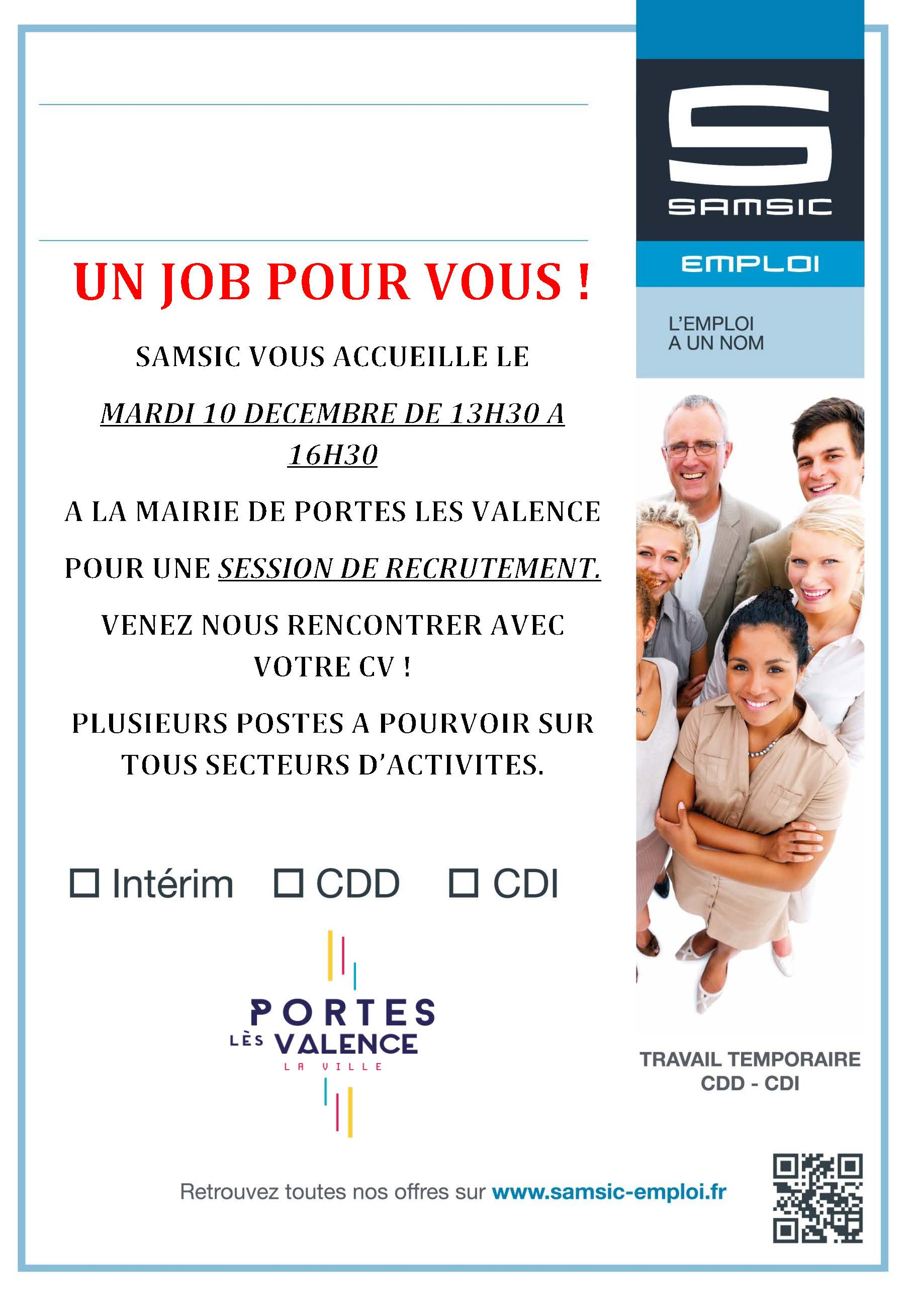 Job dating Samsic emploi