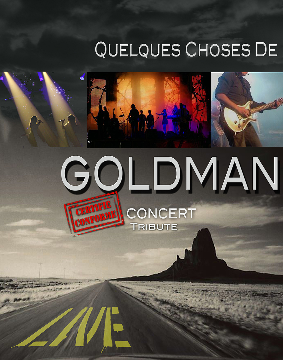 Affiche Goldman Tribute