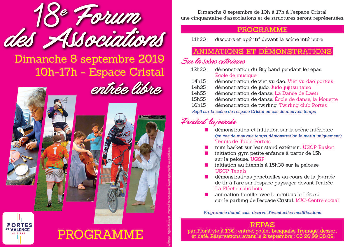 Flyer forum des associations